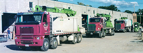 Grimm Building has a modern delivery fleet to carry your supplies anywhere within New York.
